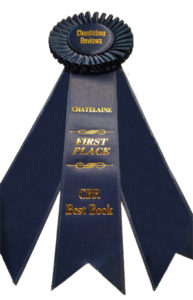 New York Gilded Age Historical Fiction - 1st Place award